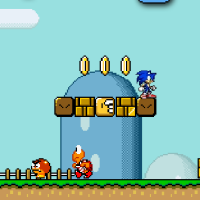 Play Mario-Sonic-2